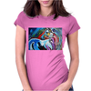 MR GORGEOUS   HORSE Womens Fitted T-Shirt