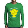 Mr Happy Mens Long Sleeve T-Shirt