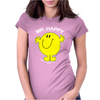 Mr Happy Womens Fitted T-Shirt