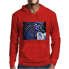 MR MIDNIGHT BLUE    HORSE Mens Hoodie