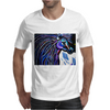 MR MIDNIGHT BLUE    HORSE Mens T-Shirt