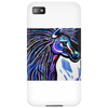 MR MIDNIGHT BLUE    HORSE Phone Case