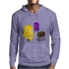 Mr. Monsteur is playing SNES! Mens Hoodie