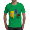 Mr. Monsteur is playing SNES! Mens T-Shirt