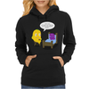 Mr. Monsteur is reading book - unfortunately... Womens Hoodie