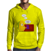 Mr. Monsteur waking up his friend! Mens Hoodie