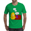 Mr. Monsteur waking up his friend! Mens T-Shirt