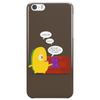 Mr. Monsteur waking up his friend! Phone Case