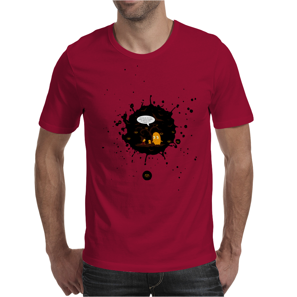 Mr. Monsteur wants to scare on Halloween! Mens T-Shirt