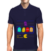 Mr. Monsteur's little chat with Pac-Man's enemies! Mens Polo