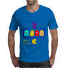 Mr. Monsteur's little chat with Pac-Man's enemies! Mens T-Shirt