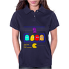 Mr. Monsteur's little chat with Pac-Man's enemies! Womens Polo