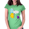 Mr. Monsteur's Terrible sundays! Womens Fitted T-Shirt