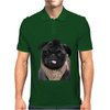 Mr P T-shirt Black Pug Mens Polo