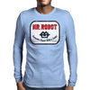 Mr Robot - Computer Repair With A Smile Mens Long Sleeve T-Shirt