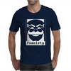 Mr. Robot TV Series Banksy Fsociety Mens T-Shirt