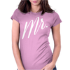 Mr. Womens Fitted T-Shirt
