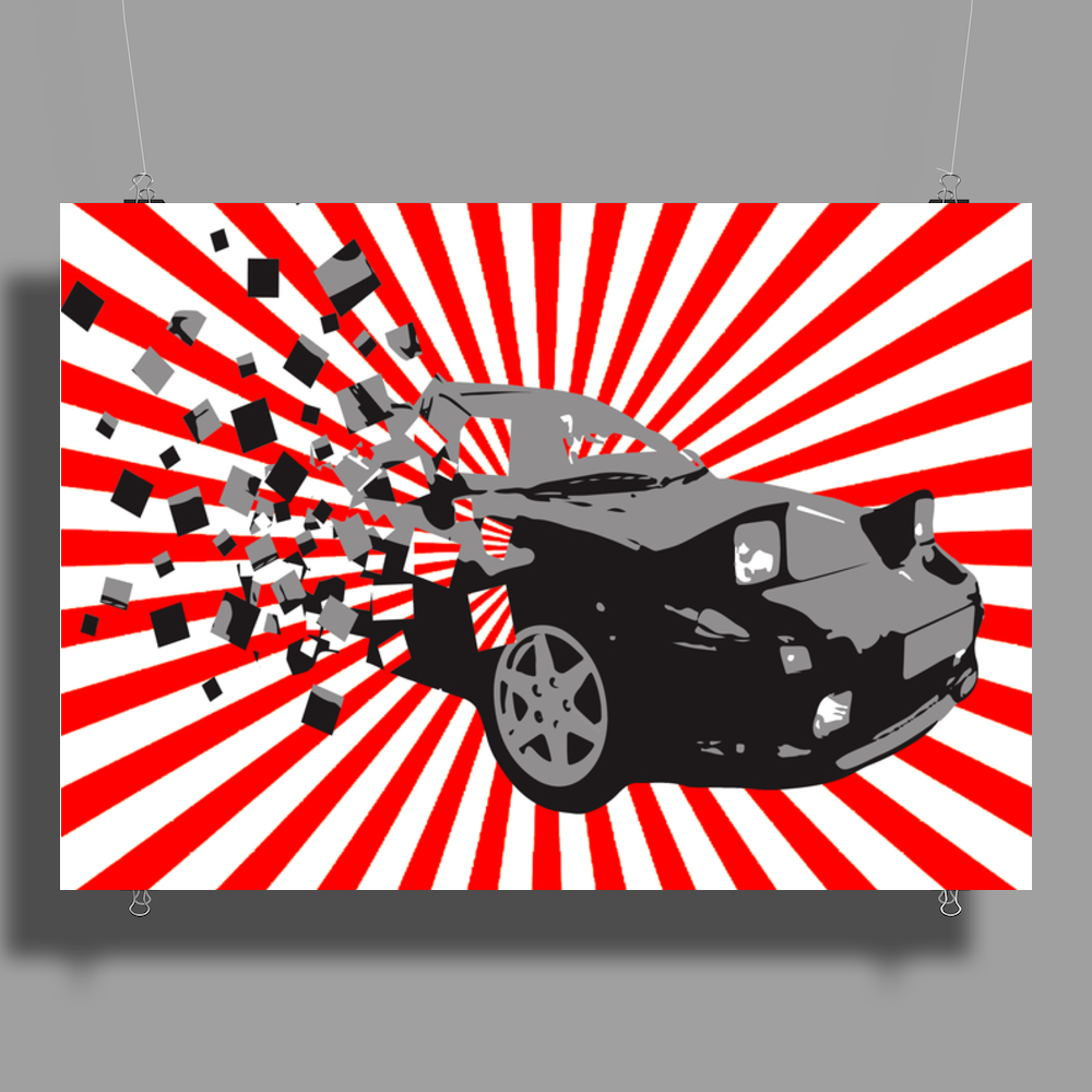 Mr2 Sunrise Poster Print (Landscape)