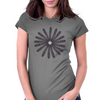 MrCrackin Circle of Owl Feathers Womens Fitted T-Shirt
