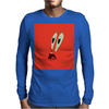 MR.Krabs shock face Mens Long Sleeve T-Shirt