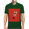 MR.Krabs shock face Mens Polo