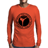 Muay Thai Fighter Mens Long Sleeve T-Shirt