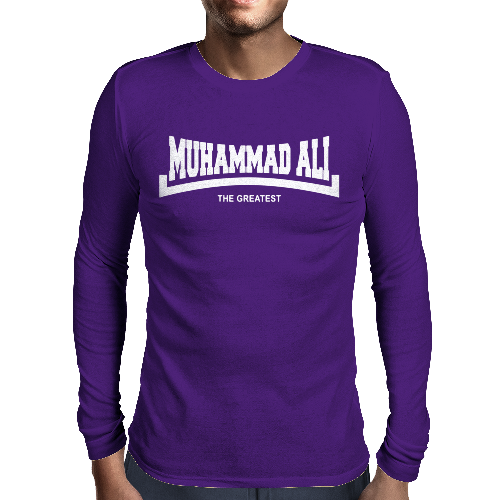 Muhammad Ali The Greatest Logo Mens Long Sleeve T-Shirt