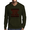 Muhammad Got The Devil on the  Run! Mens Hoodie