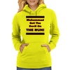 Muhammad Got The Devil On The Run Womens Hoodie