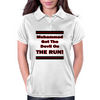 Muhammad Got The Devil On The Run Womens Polo