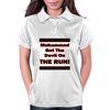 Muhammad Got The Devil on the  Run! Womens Polo