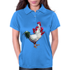 Multi-headed Rooster Womens Polo