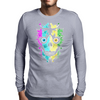 Multi Skulla Mens Long Sleeve T-Shirt