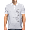 Multilingual Thank You Mens Polo