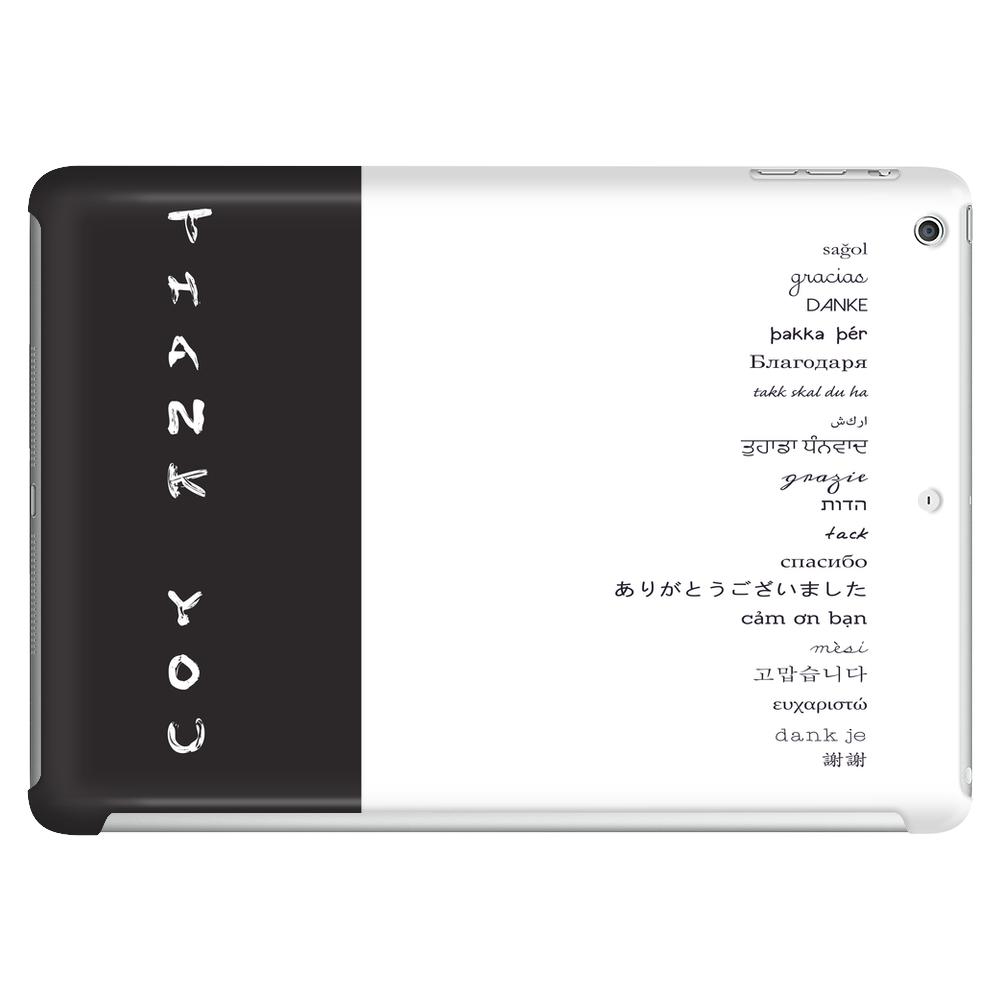 Multilingual Thank You Tablet