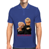 Muppets Old School Waldorf & Statler Mens Polo