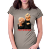 Muppets Old School Waldorf & Statler Womens Fitted T-Shirt