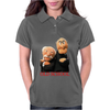 Muppets Old School Waldorf & Statler Womens Polo
