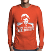 Murder She Wrote Deadly Lady Mens Long Sleeve T-Shirt