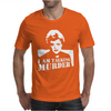 Murder She Wrote Deadly Lady Mens T-Shirt
