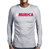 #Murica Mens Long Sleeve T-Shirt