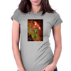Mushroom Core Womens Fitted T-Shirt