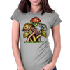 Mushroom Elf Womens Fitted T-Shirt