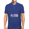 Mushrooms Mens Polo