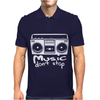 Music Dont Stop Mens Polo
