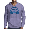 Music Is My Life Mens Hoodie