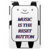 Music is the reset button Tablet (vertical)