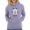 Music is the reset button Womens Hoodie