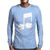 MUSIC NOTE Mens Long Sleeve T-Shirt