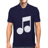 MUSIC NOTE Mens Polo